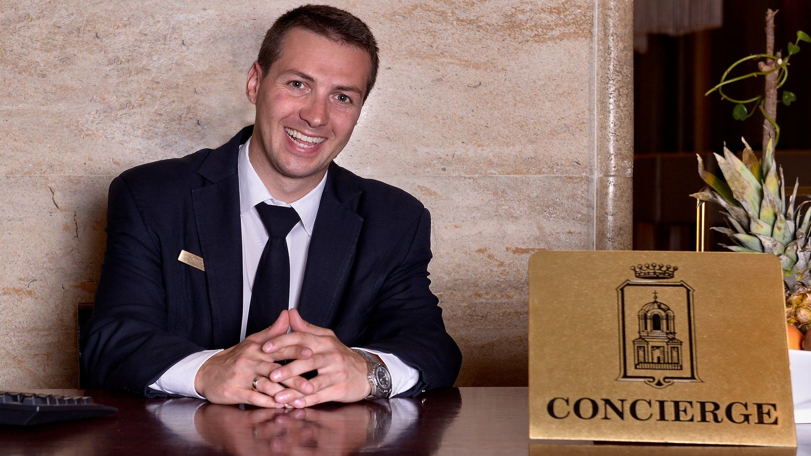 The Head Concierge at Sofia Hotel Balkan